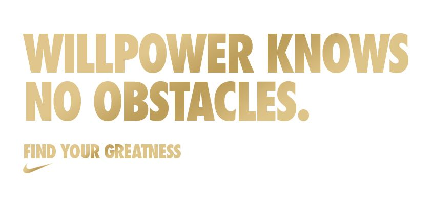 Willpower knows no obstacles