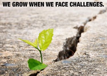 You Can Grow From Challenges