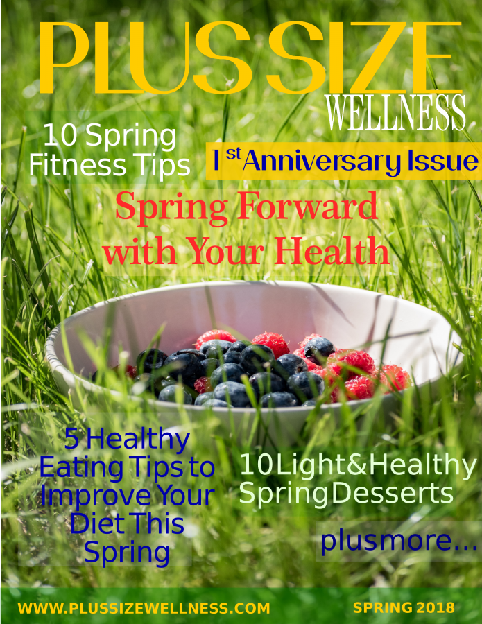 Plus Size Wellness Mag Spting 2018 Cover