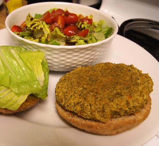 Millet Veggie Burger