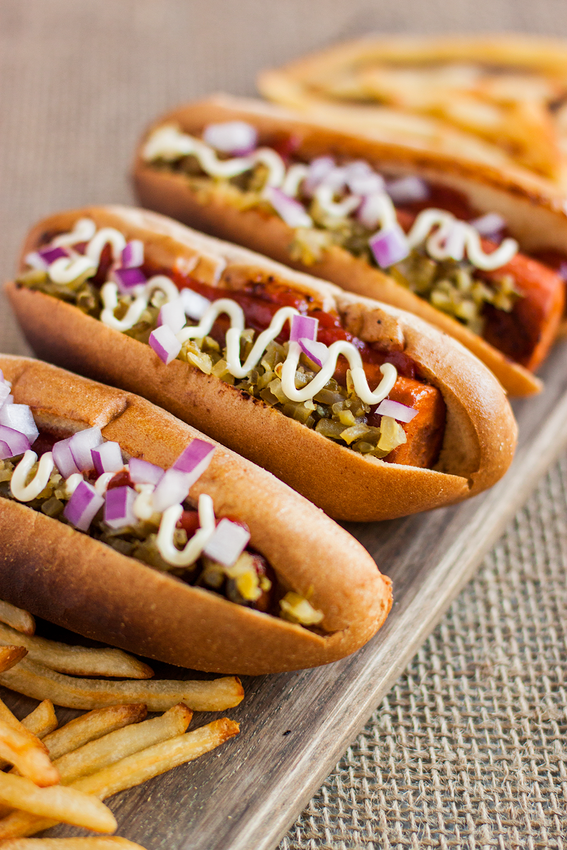carrot hot dog