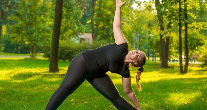 Plus Size Wellness includes exercising